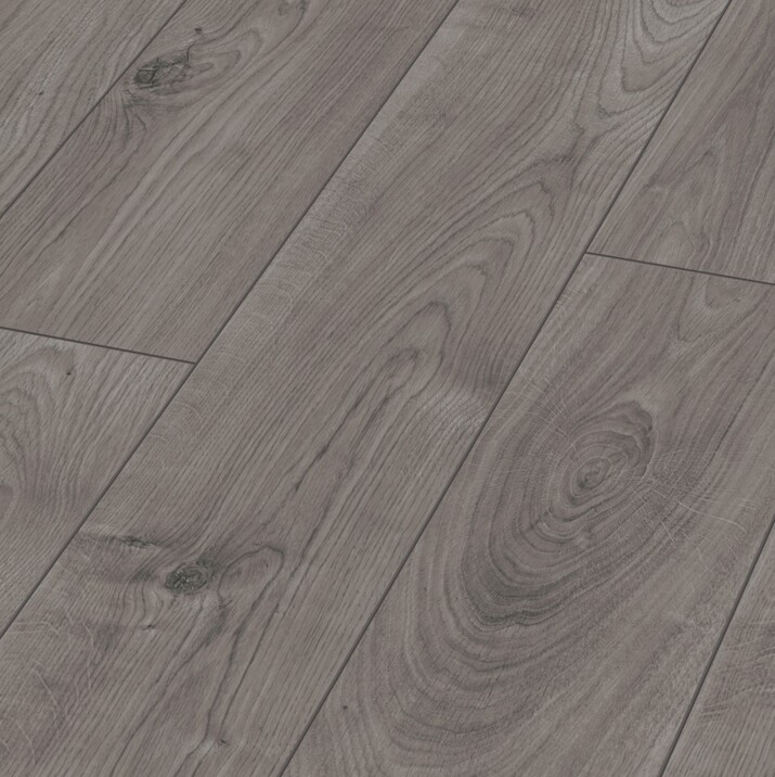 Parquet stratifié 12 mm Authentique Gris 3