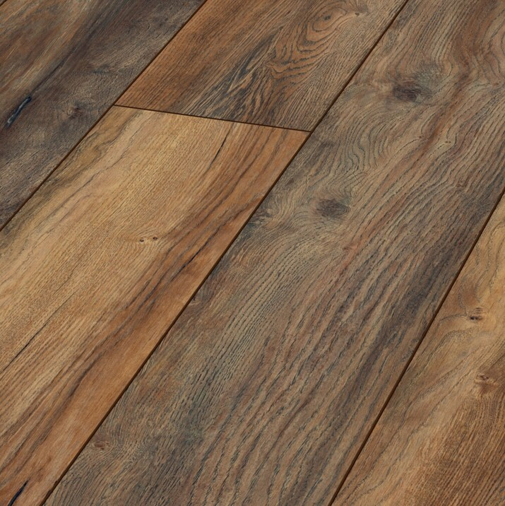 Parquet stratifié 12 mm Harbour Marron 3