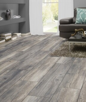 Parquet stratifié 12 mm Harbour Gris